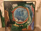 Introspect $225-900- 36x36, Framed