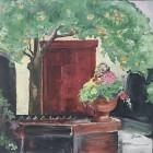 Red Door $2375 - 30x30 wrapped