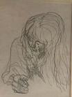 Sketching Woman $25-100 11x14