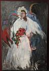 DaVinci's Horse $400-1600 48x72 Acrylic wrapped canvas